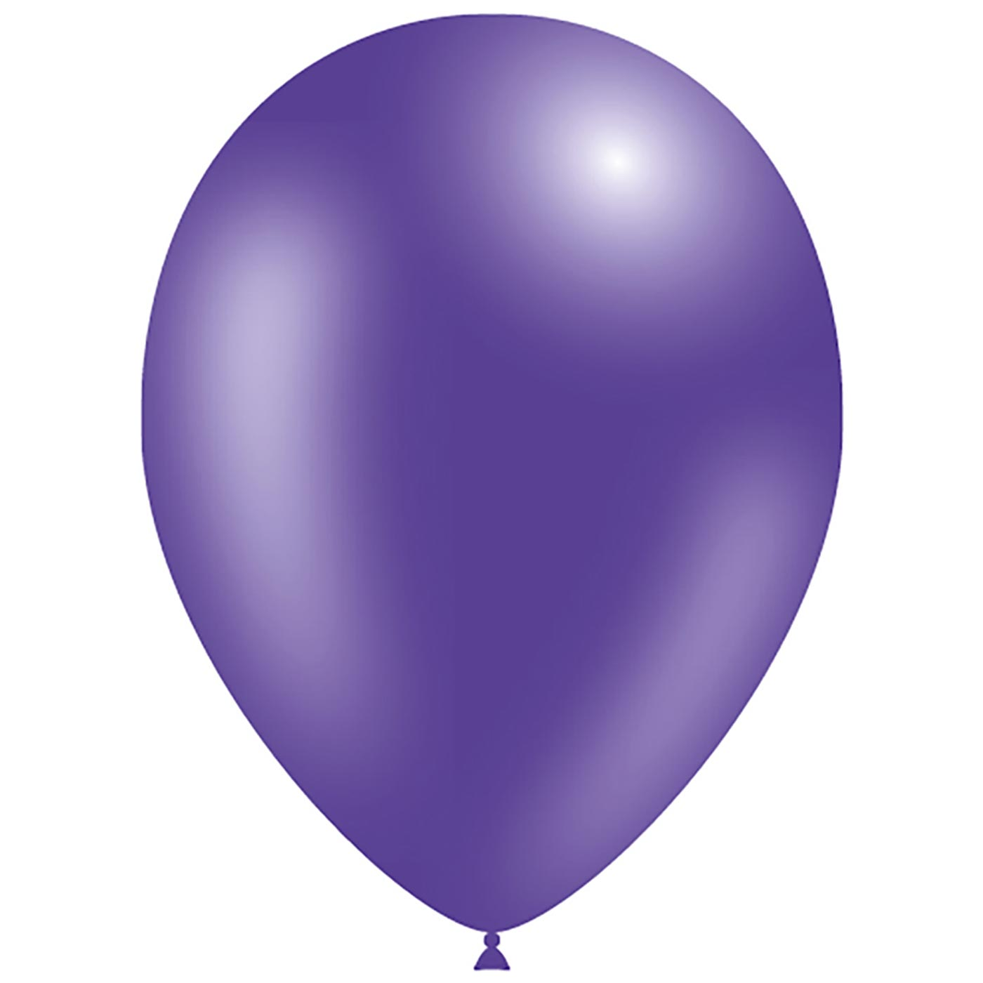 11 inch Decotex Metallic Purple