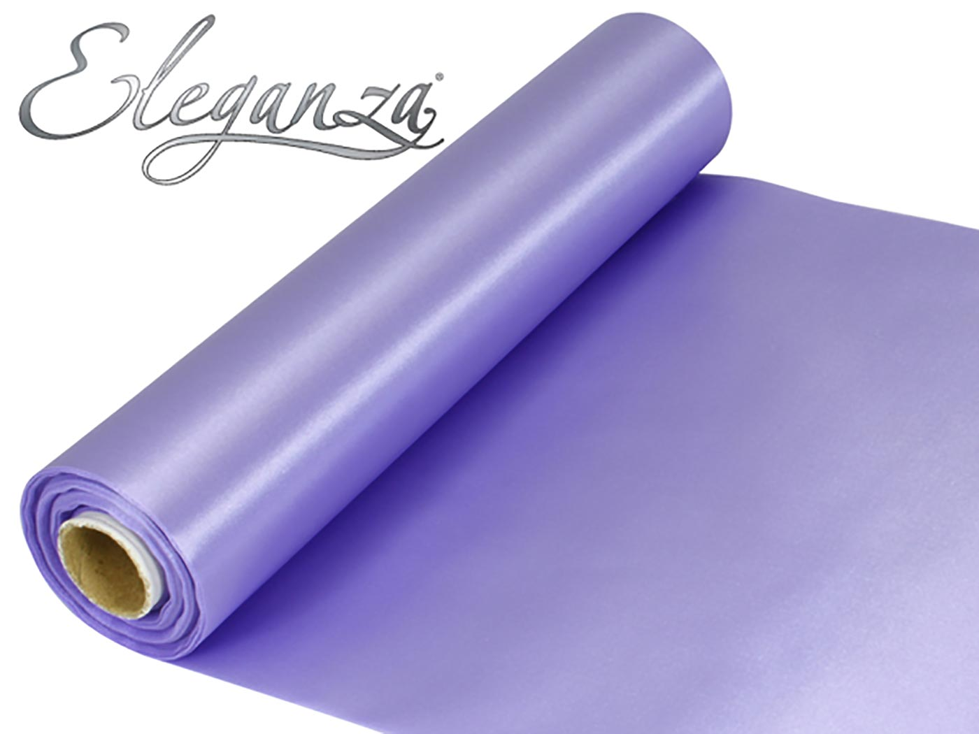 Eleganza Satin Fabric 29cm x 20m Lavender