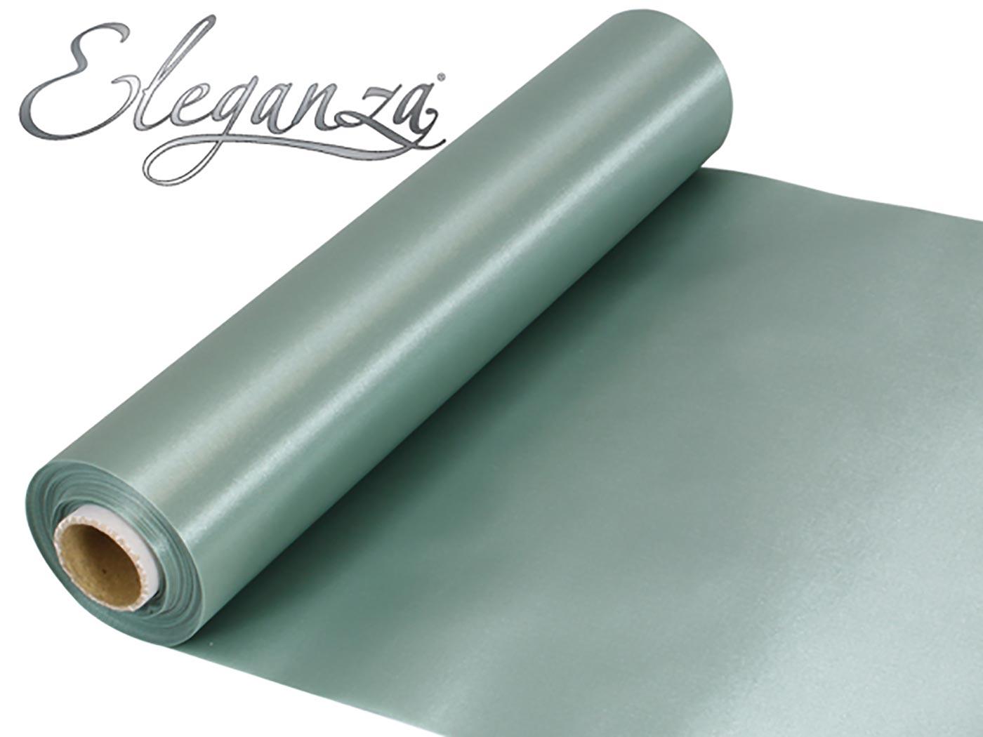 Eleganza Satin Fabric 29cm x 20m Willow
