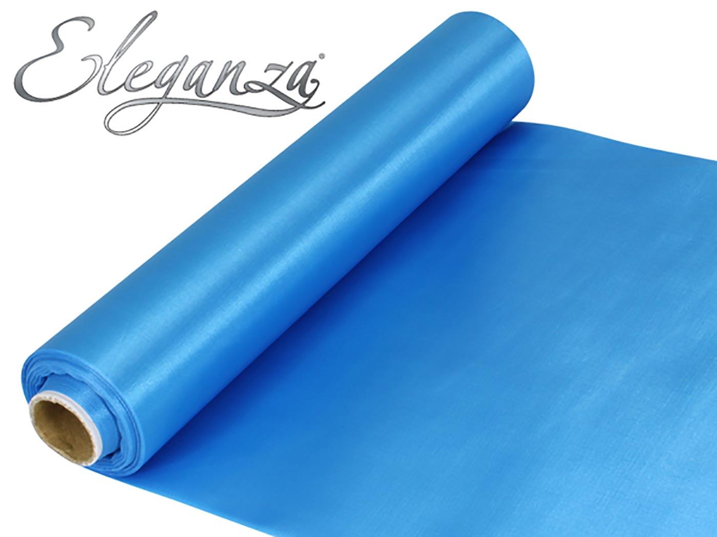 Eleganza Satin Fabric 29cm x 20m Turquoise