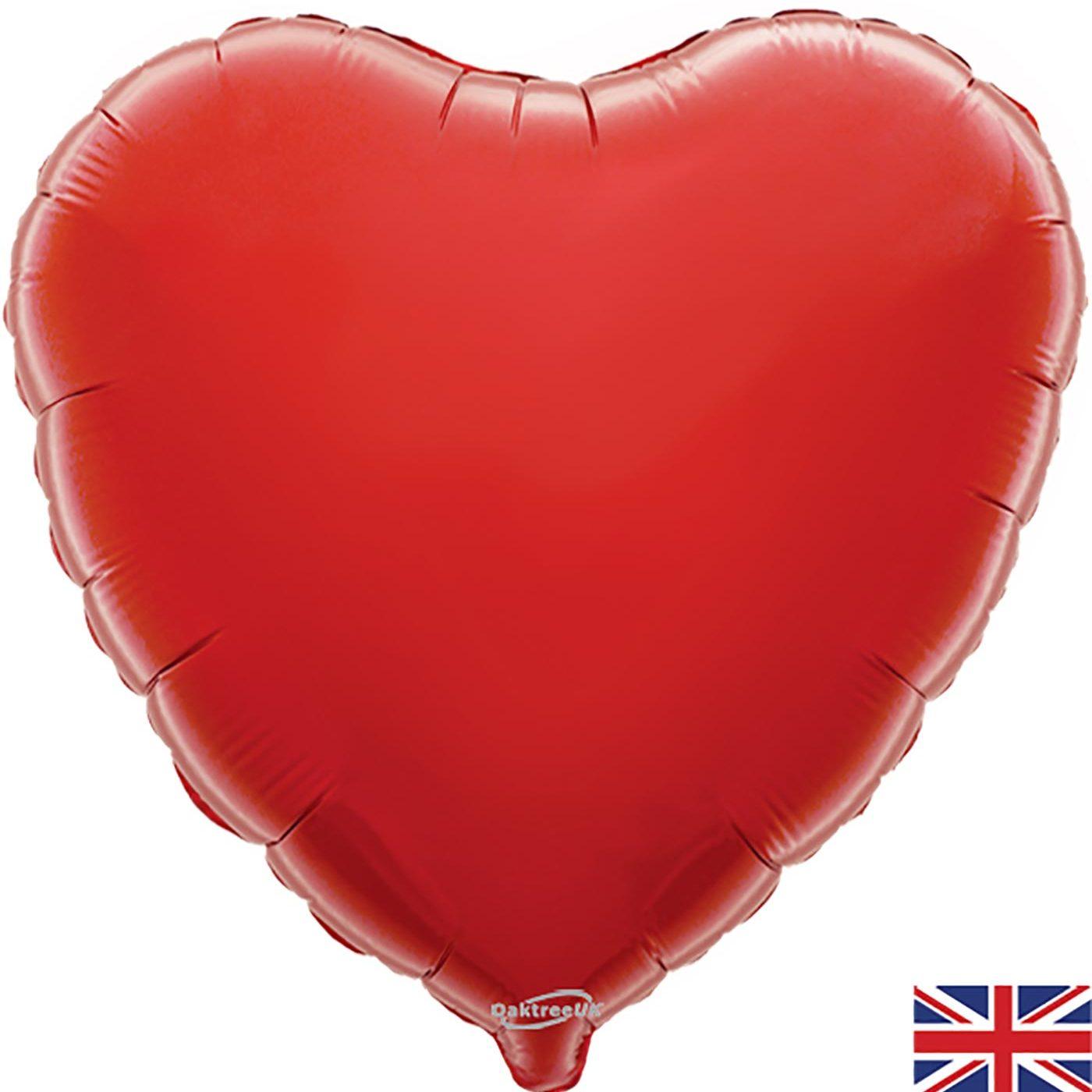 """Oaktree 18"""" Red Heart"""