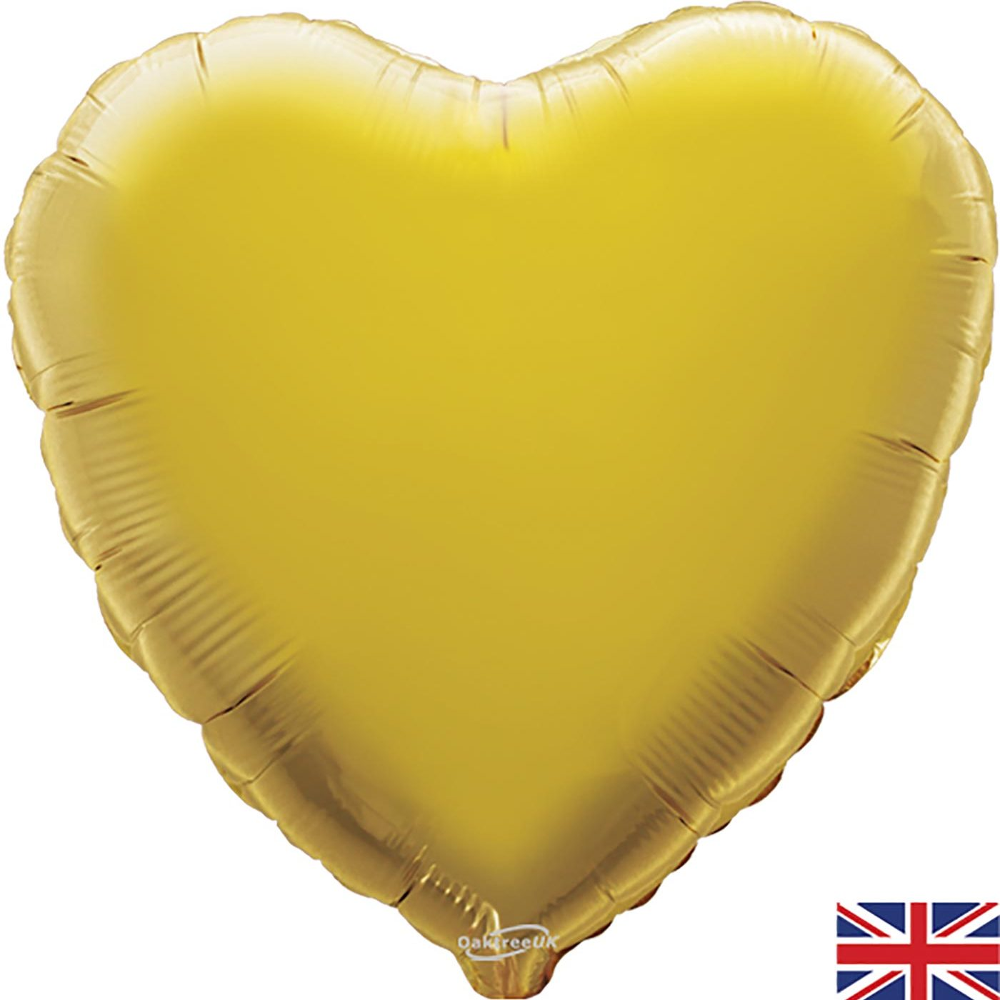 "Oaktree 18"" Gold Heart"