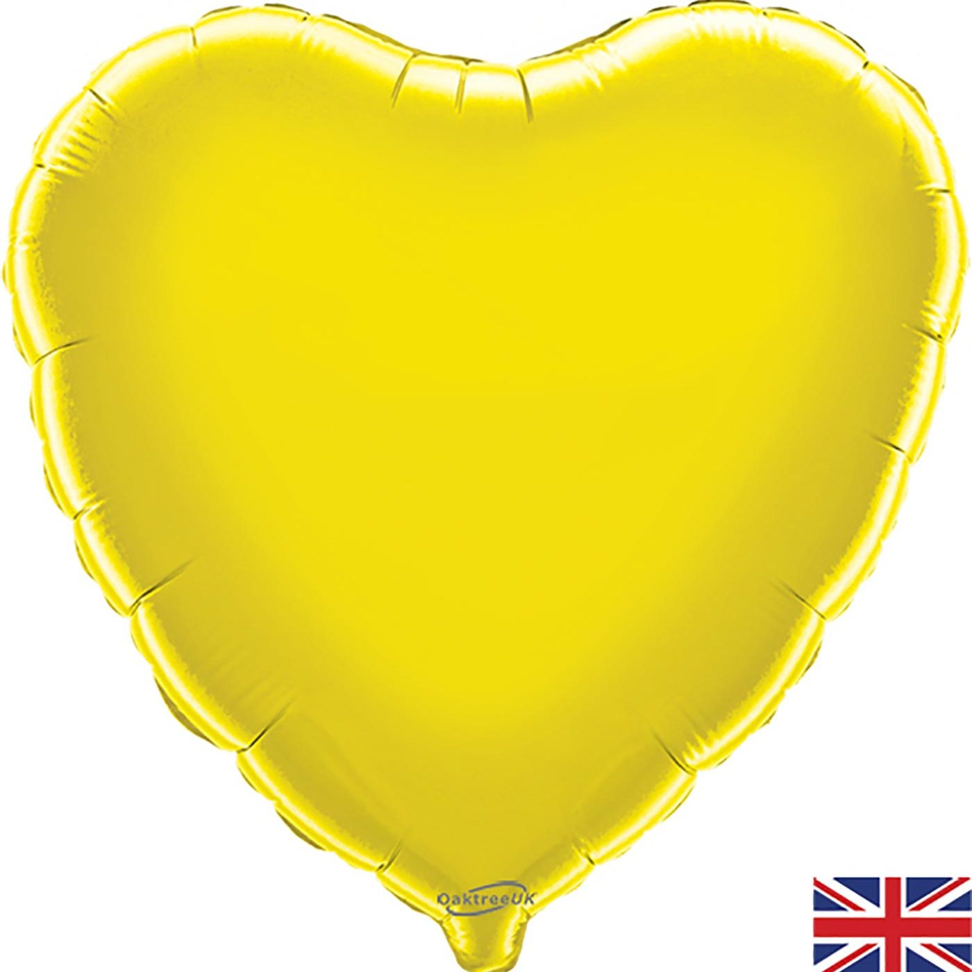 "Oaktree 18"" Yellow Heart"