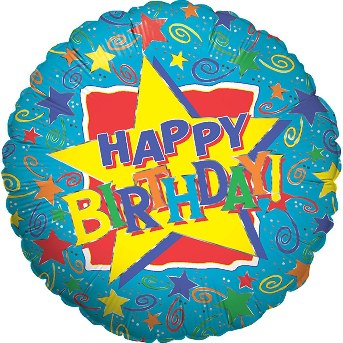 "Betallic 18"" Starry Birthday"