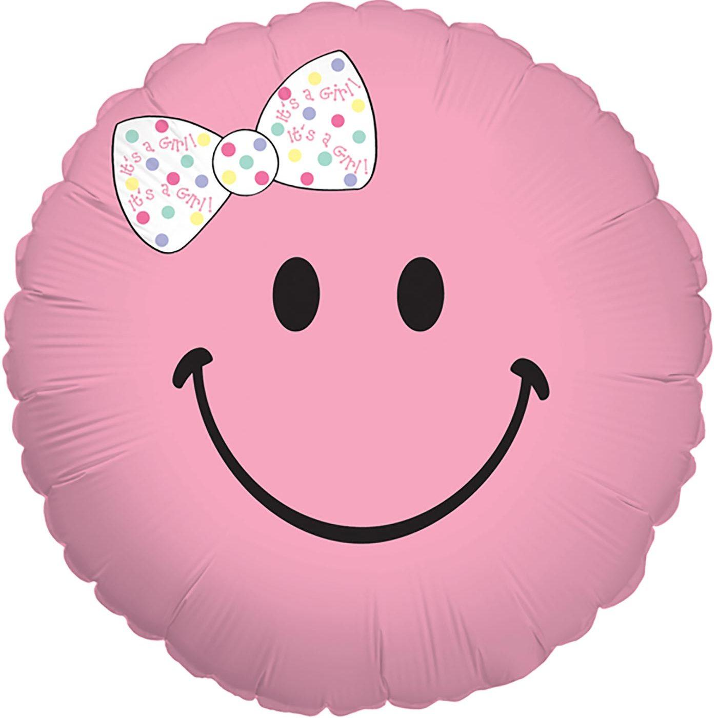 """Betallic 18"""" Smiley Baby Girl"""