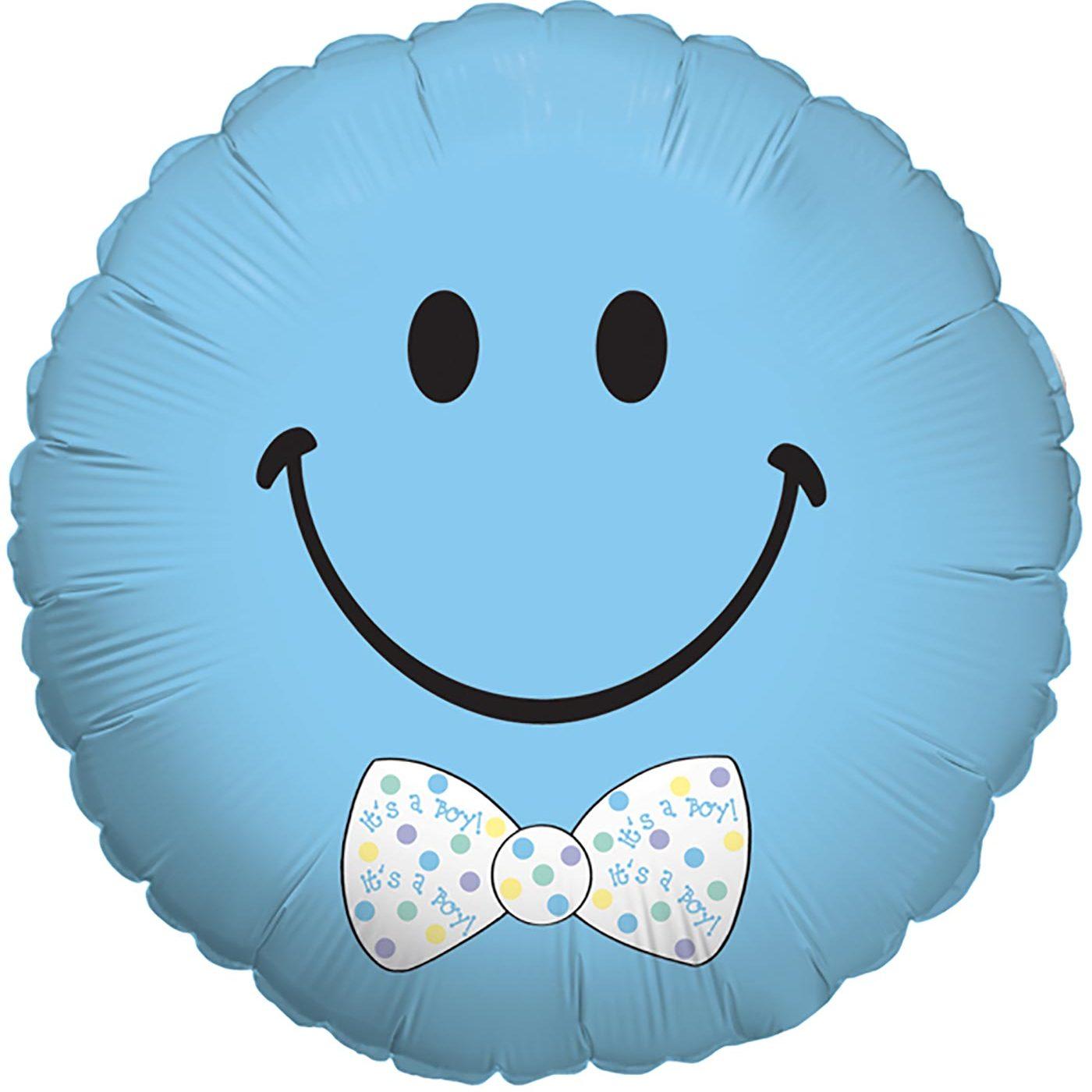 "Betallic 18"" Smiley Baby Boy"