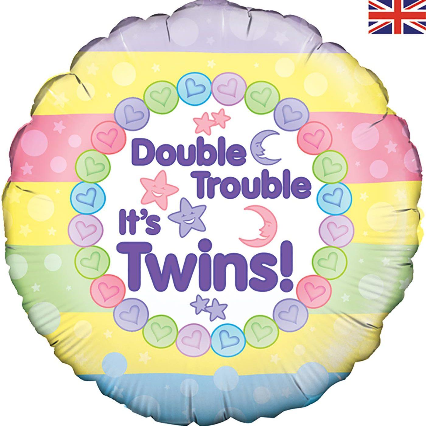"""Oaktree 18"""" Double Trouble It's Twins"""