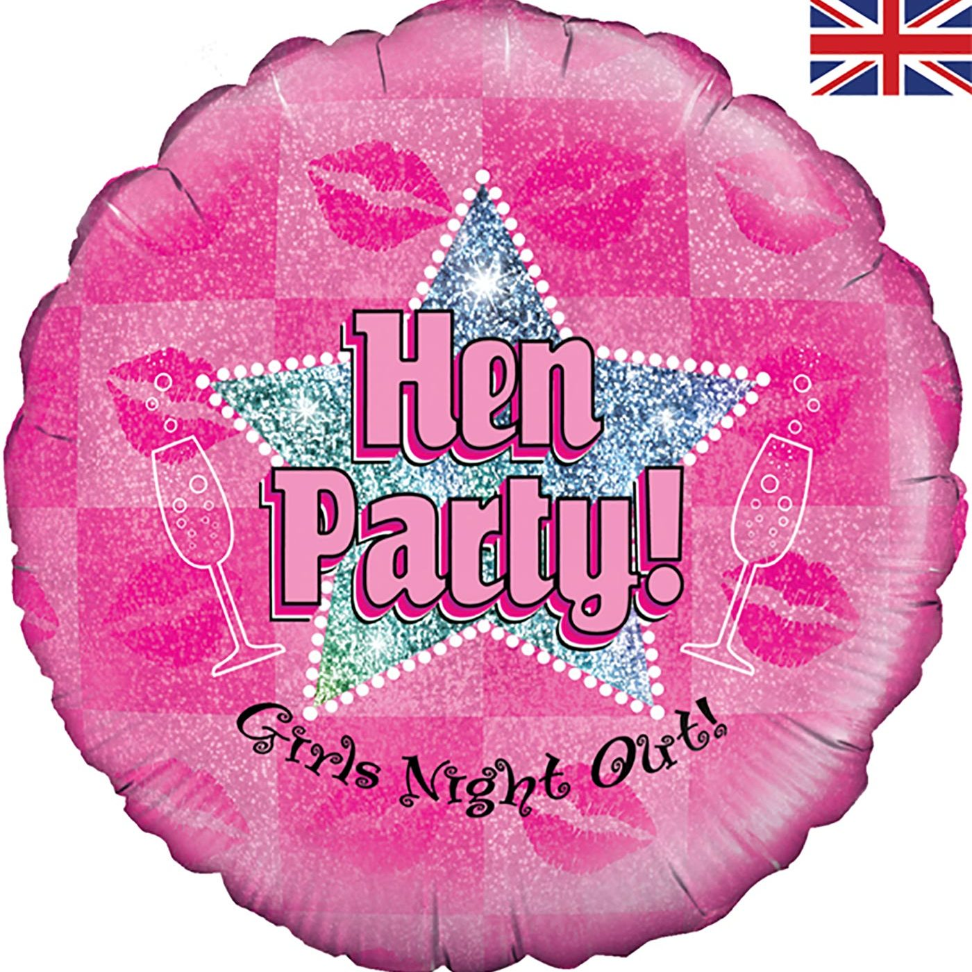 "Oaktree 18"" Hen Party Holographic"