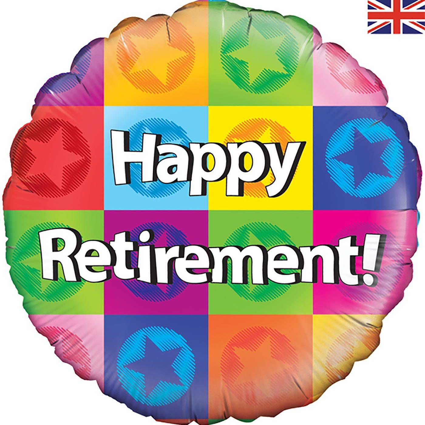 """Oaktree 18"""" Happy Retirement"""