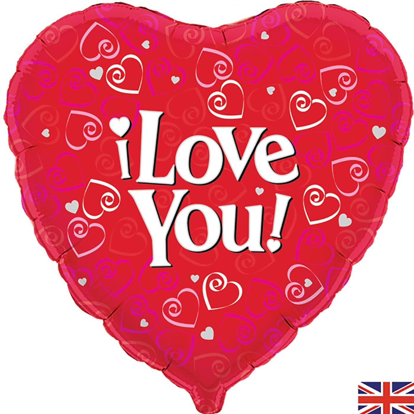 "Oaktree 18"" I Love You"