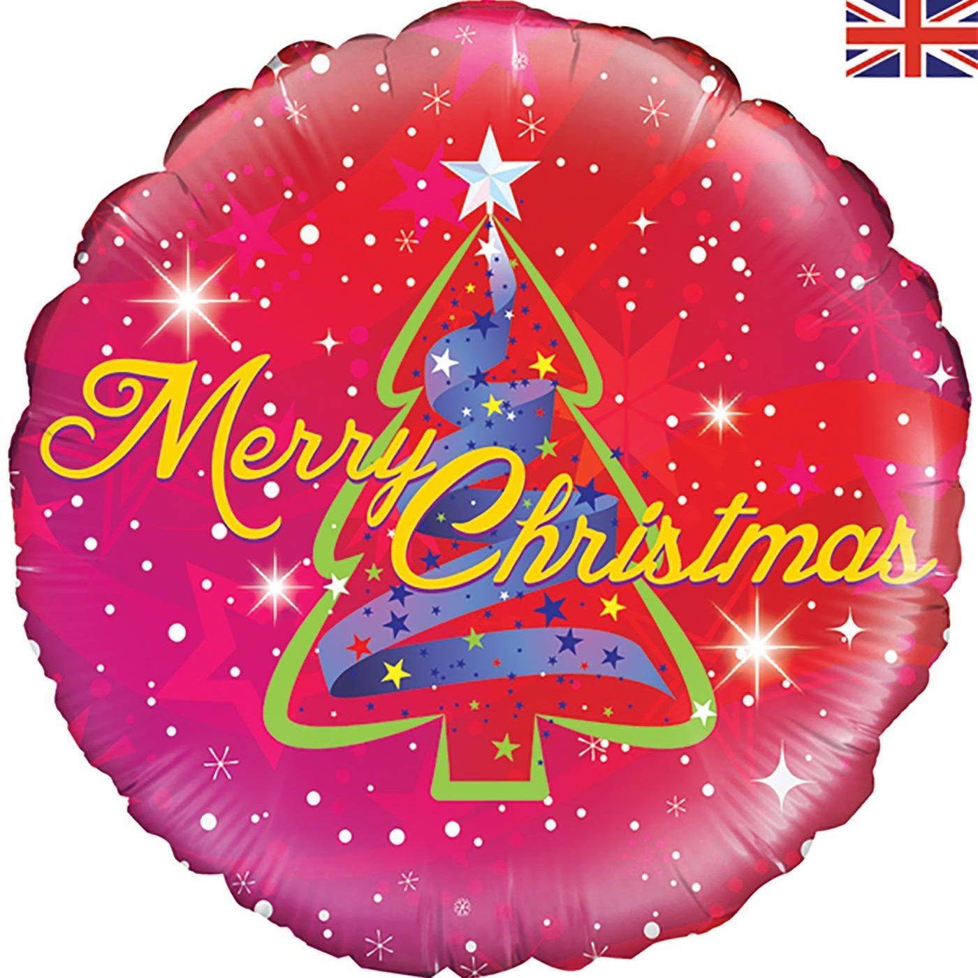 "Oaktree 18"" Ribbon Tree Christmas Holographic"