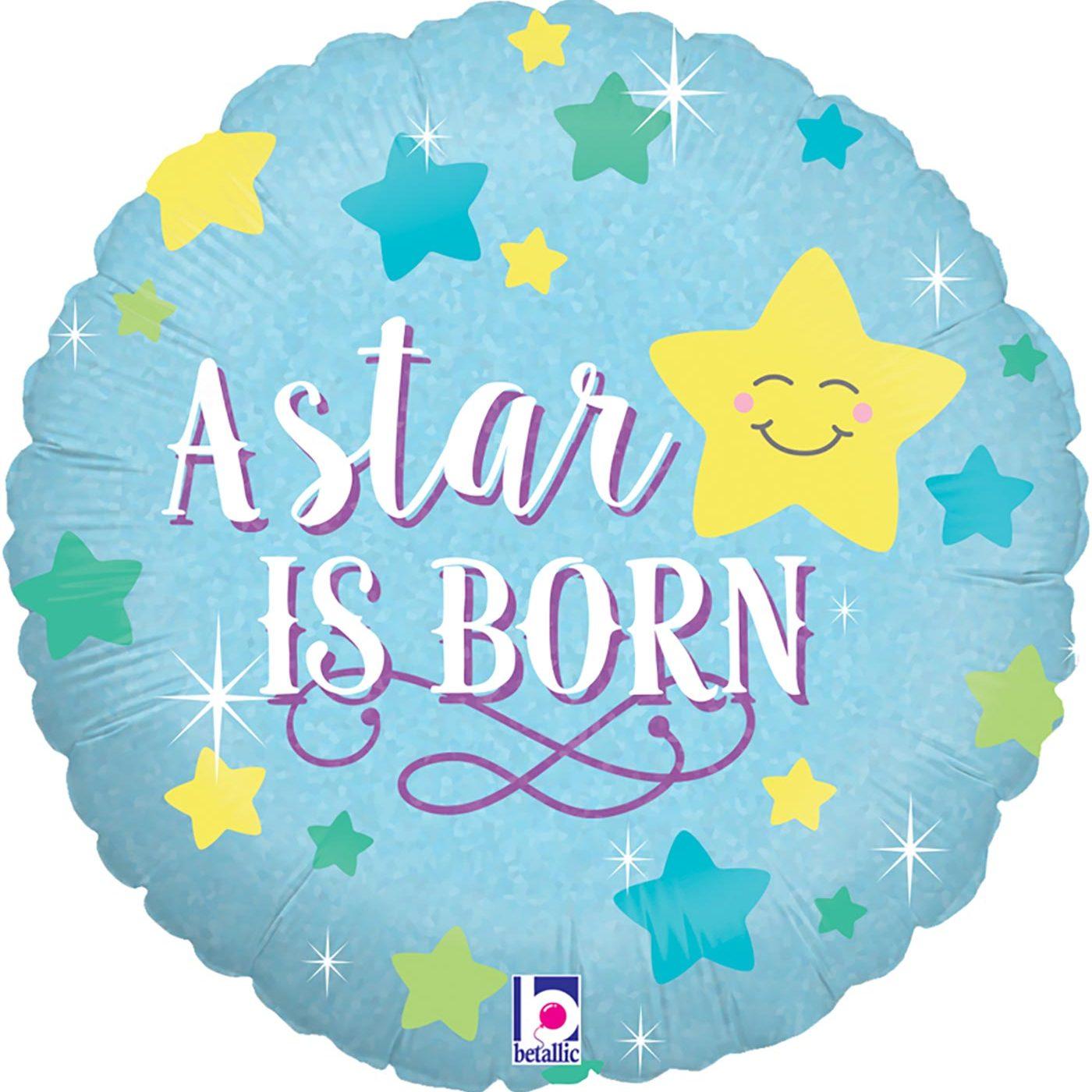 "Betallic 18"" A Star Is Born – Boy Holographic"
