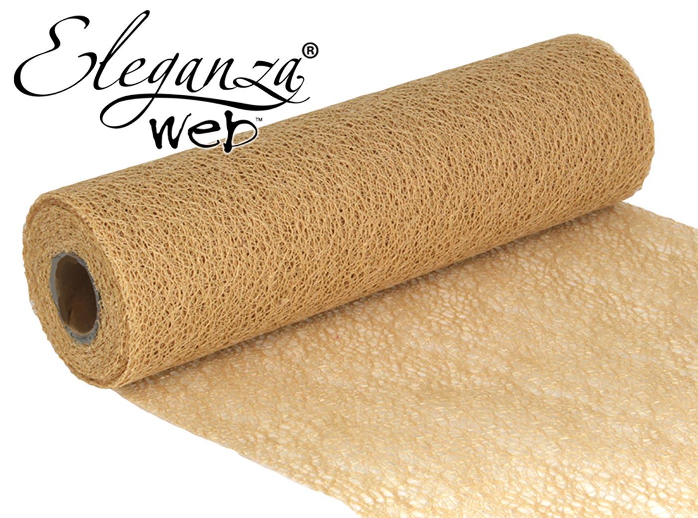 Eleganza Web Fabric roll 28cm x 10m Natural