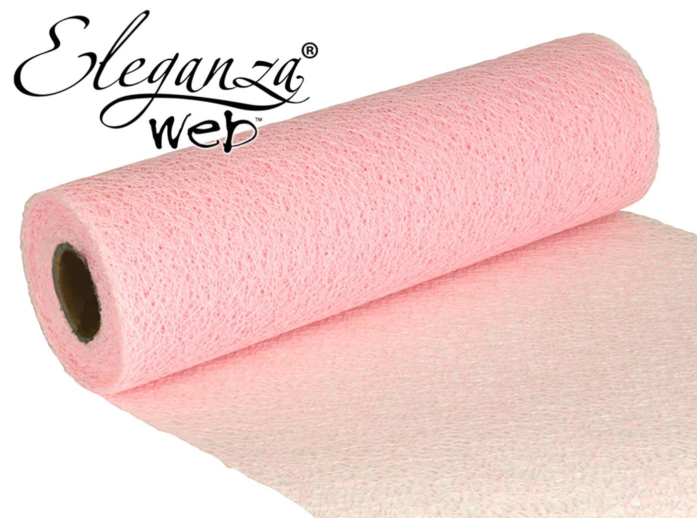 Eleganza Web Fabric roll 28cm x 10m Lt. Pink
