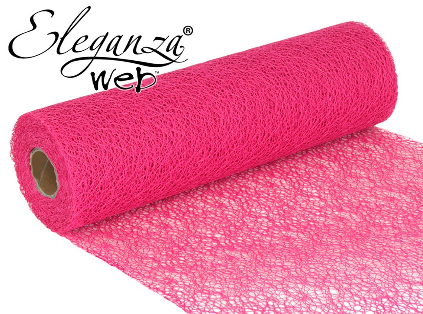 Eleganza Web Fabric roll 28cm x 10m Fuchsia