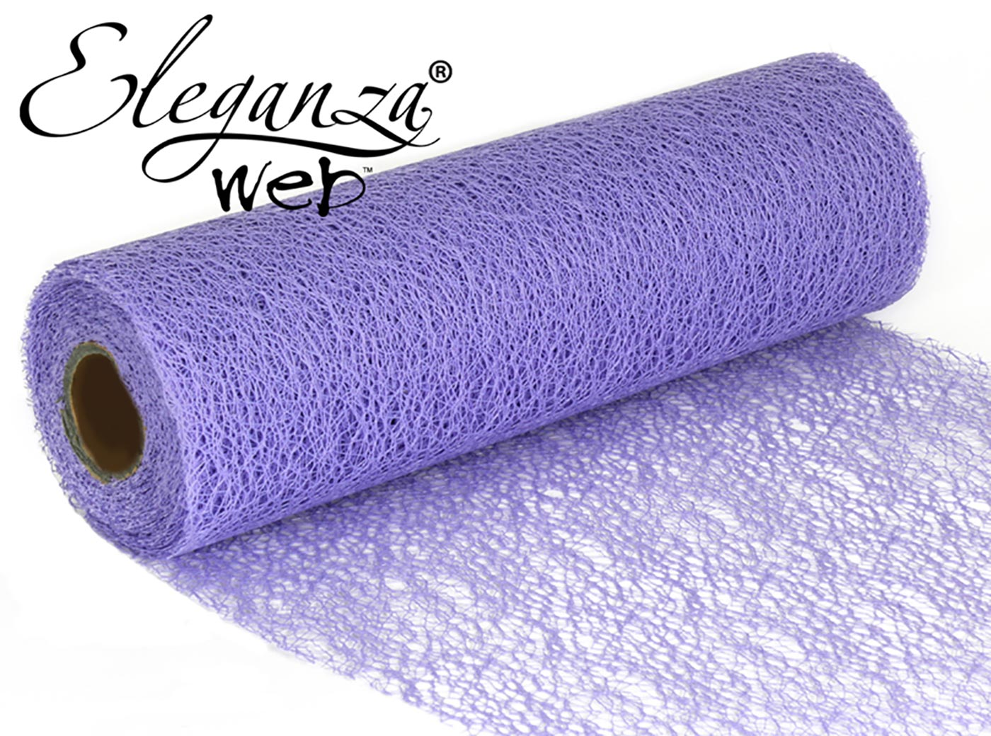 Eleganza Web Fabric roll 28cm x 10m Lavender