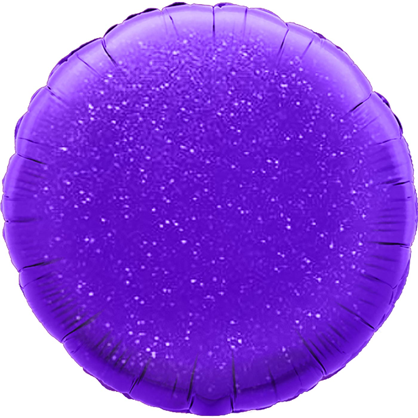 "Oaktree 18"" Purple Holographic Round"