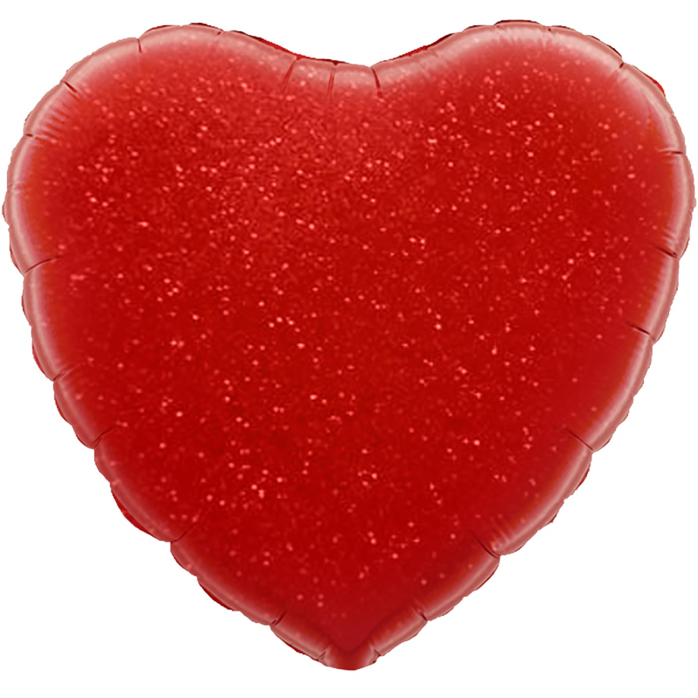 """Oaktree 19"""" Red Holographic Heart"""