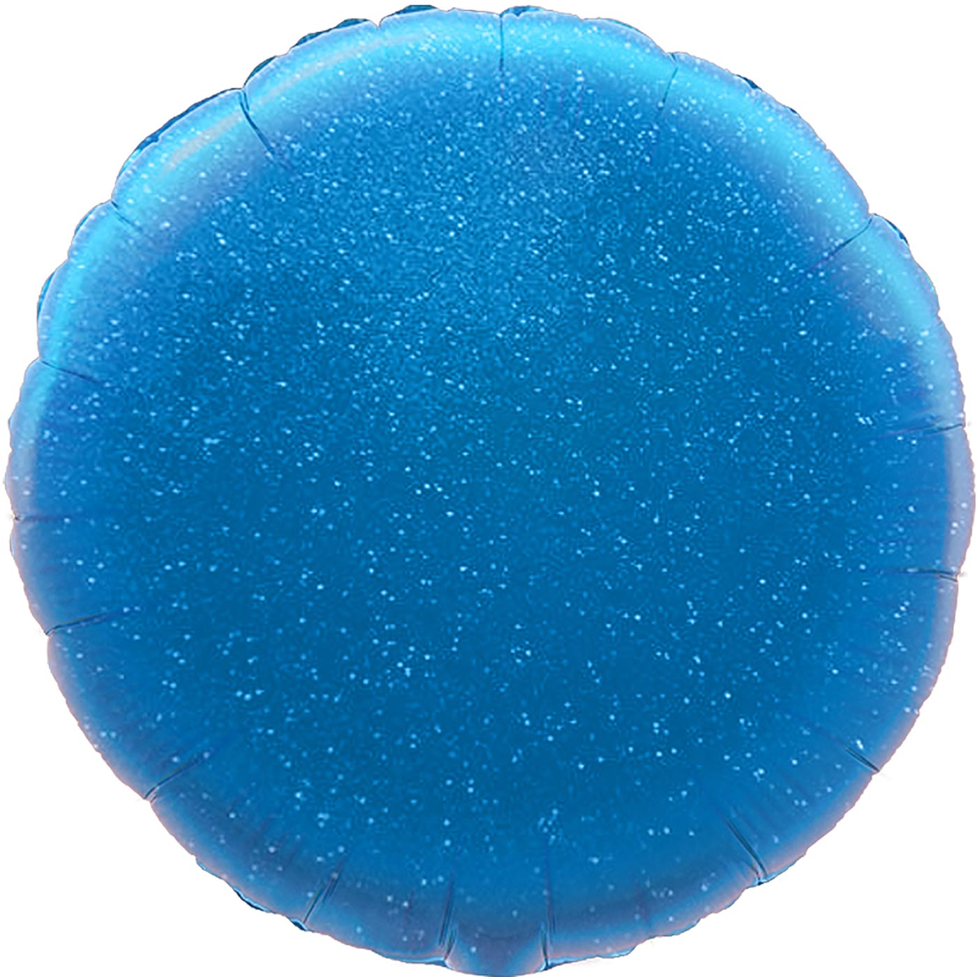 """Oaktree 18"""" Blue Holographic Round"""