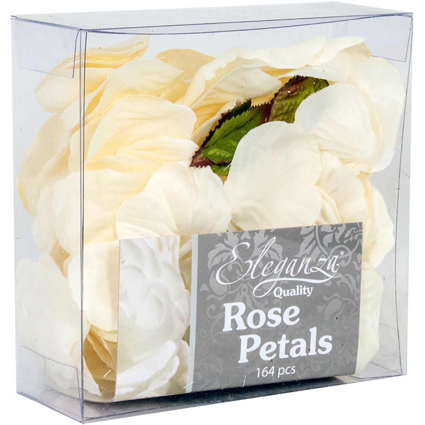 Eleganza Rose Petals Acetate box 164pcs Ivory
