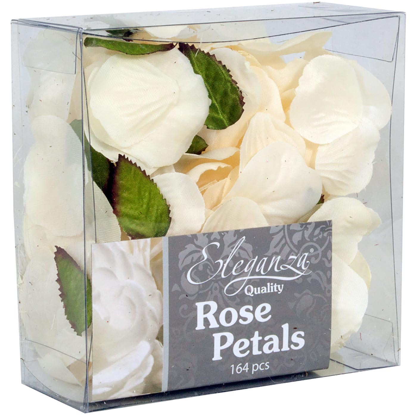 Eleganza Rose Petals Acetate box 164pcs Cream