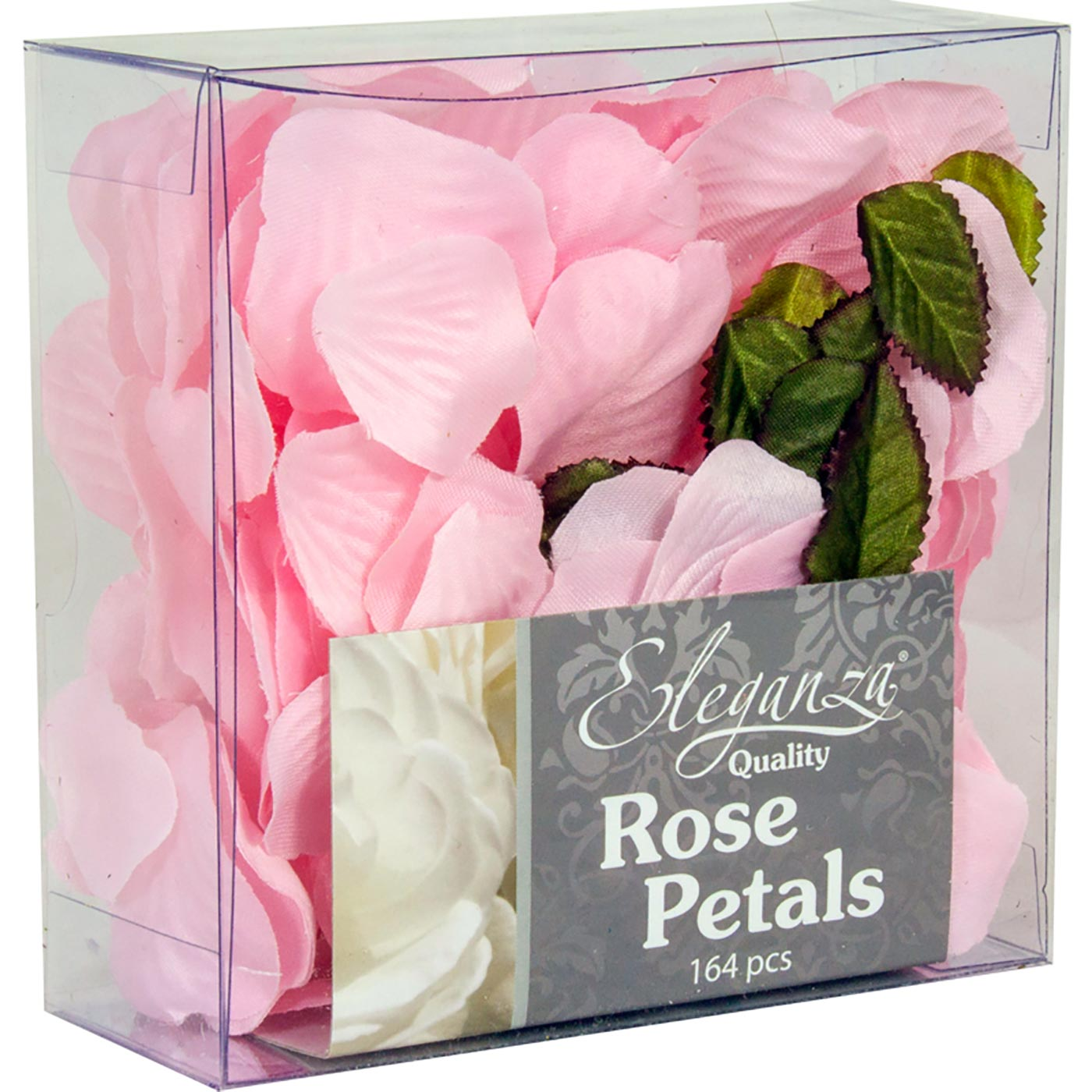 Eleganza Rose Petals Acetate box 164pcs Lt. Pink