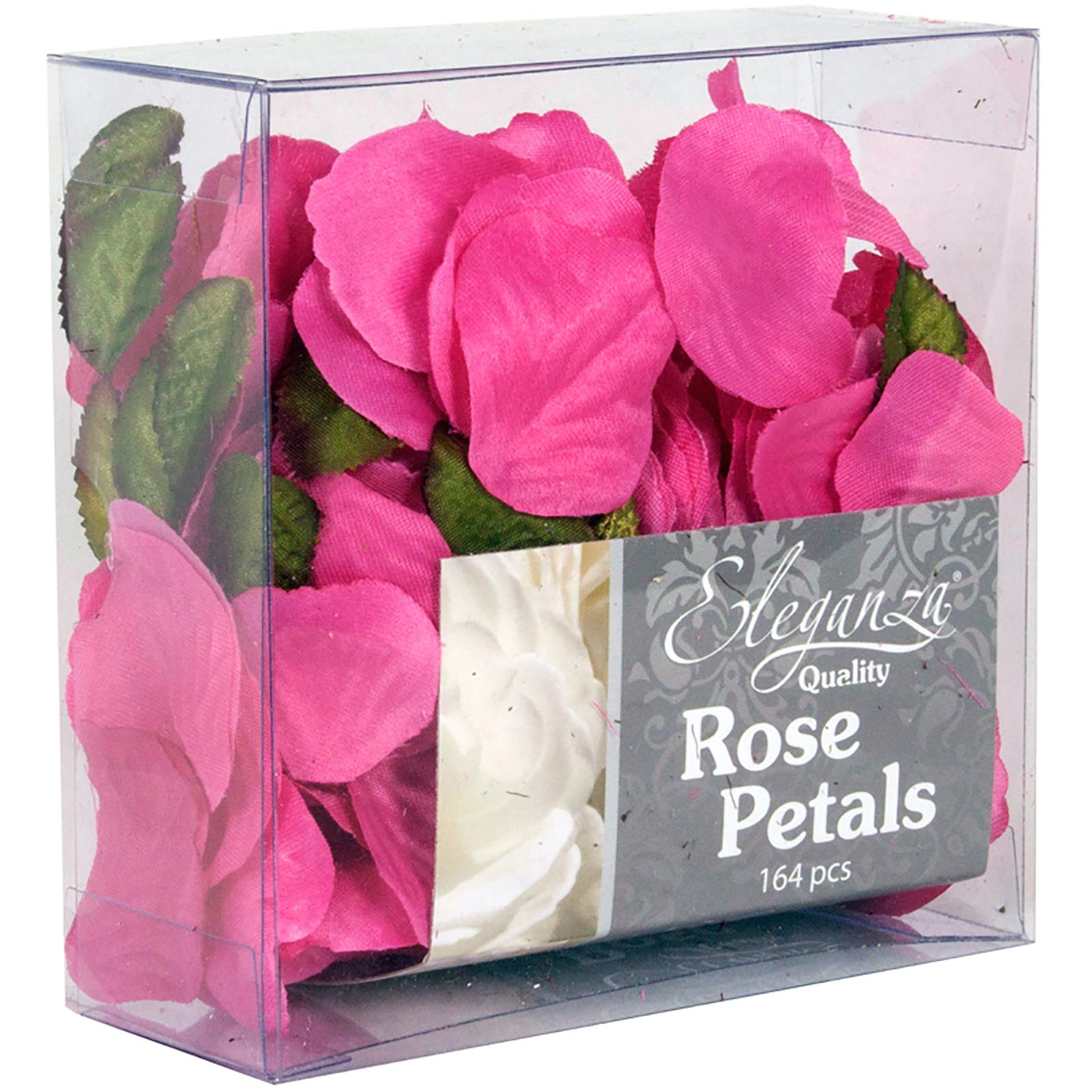 Eleganza Rose Petals Acetate box 164pcs Fuchsia