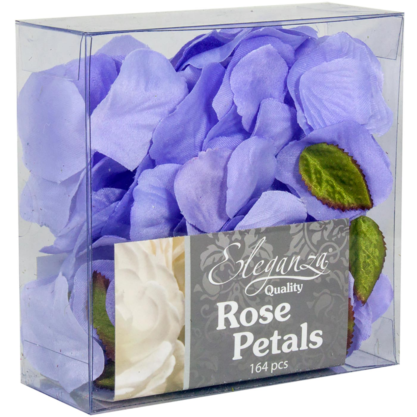 Eleganza Rose Petals Acetate box 164pcs Lavender