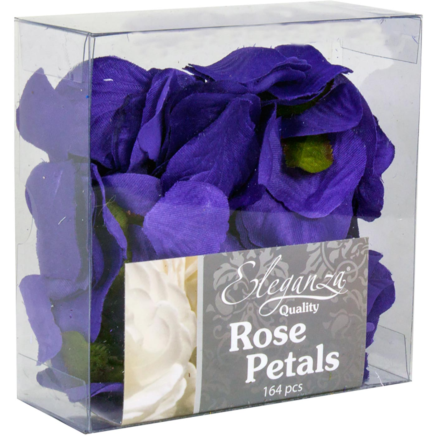 Eleganza Rose Petals Acetate box 164pcs Purple