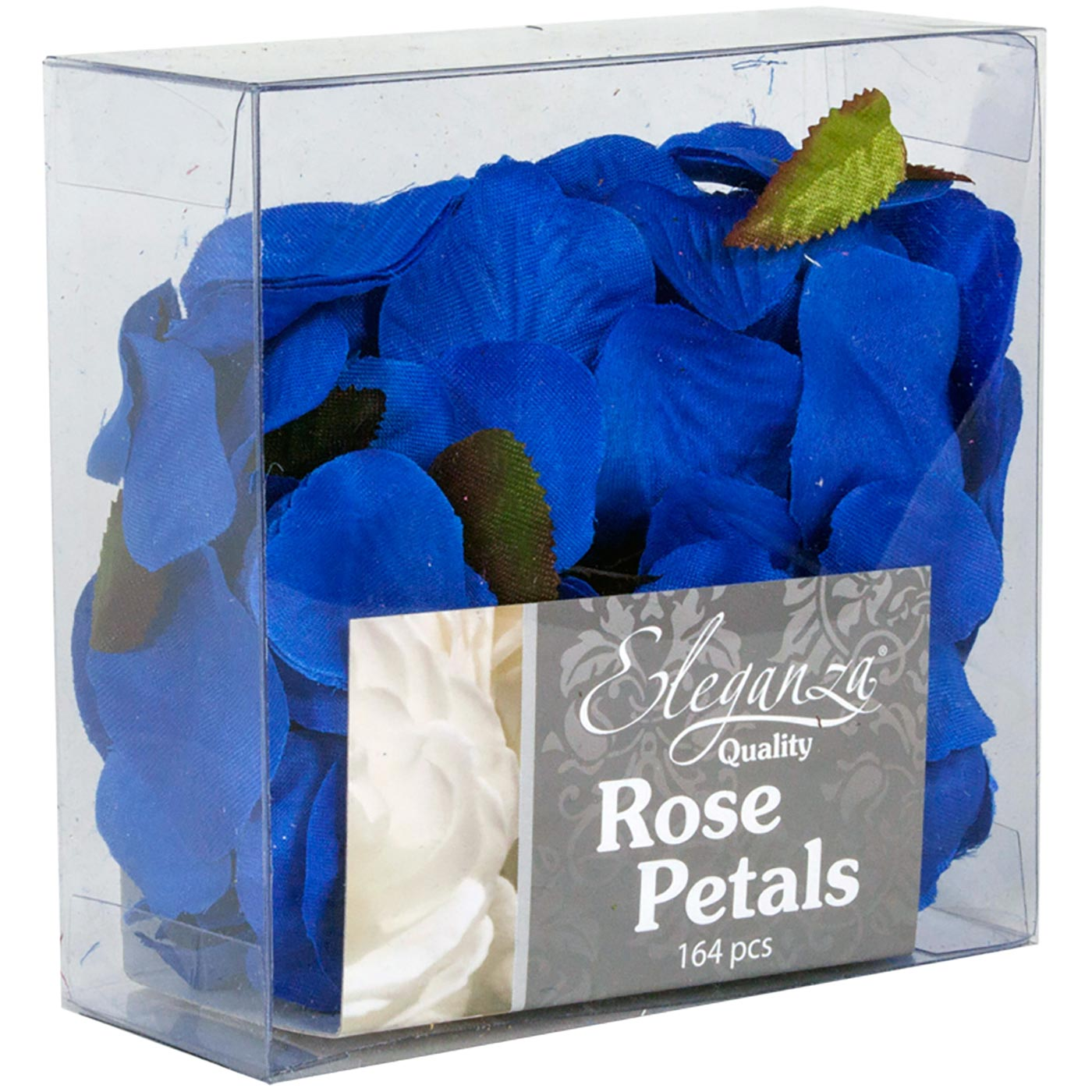 Eleganza Rose Petals Acetate box 164pcs Royal Blue