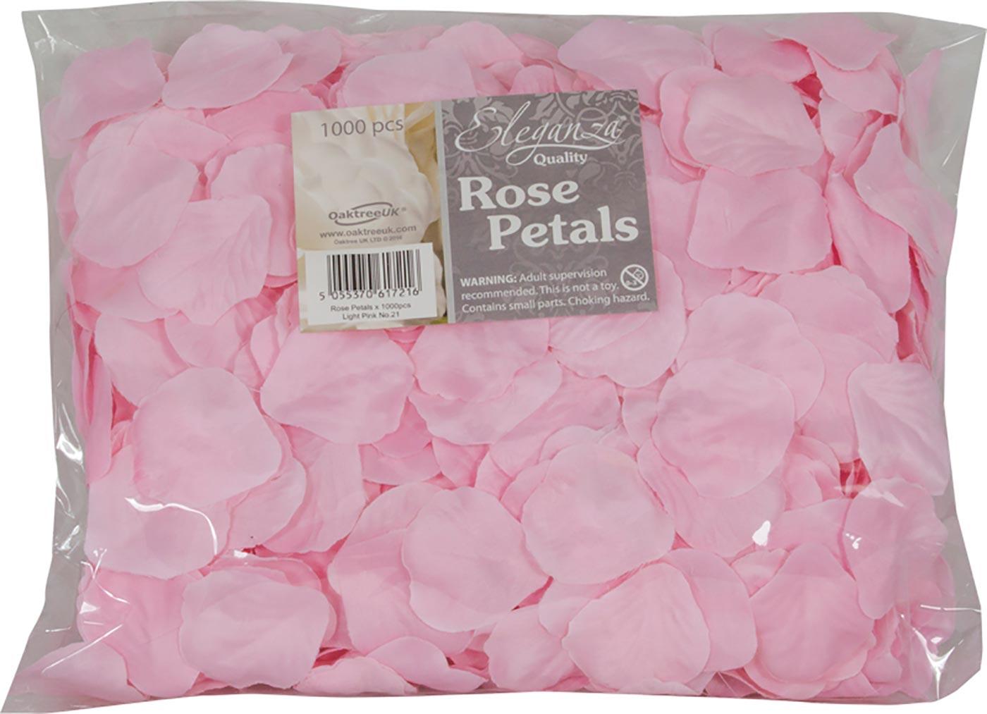 Eleganza Rose Petals x 1000pcs Lt. Pink