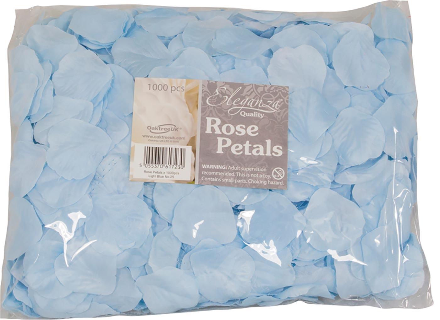 Eleganza Rose Petals x 1000pcs Lt. Blue