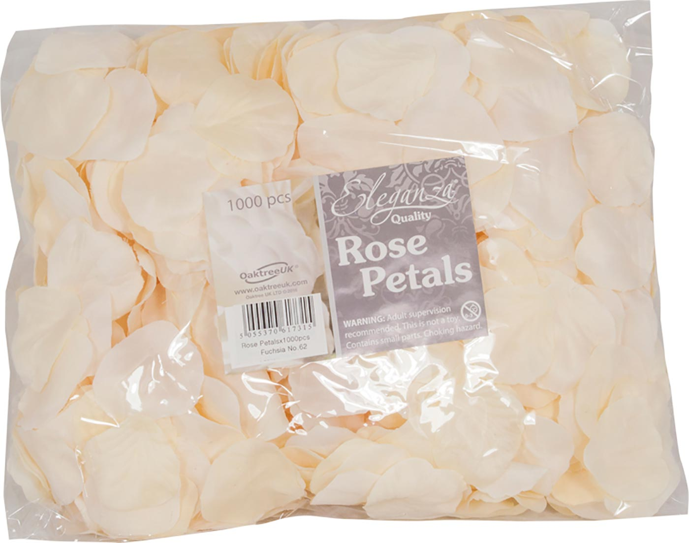 Eleganza Rose Petals x 1000pcs Cream