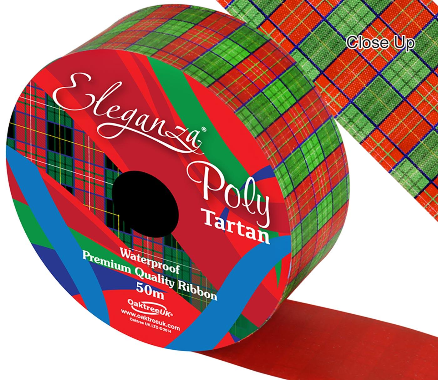 Eleganza Poly 50mm x 50m Tartan
