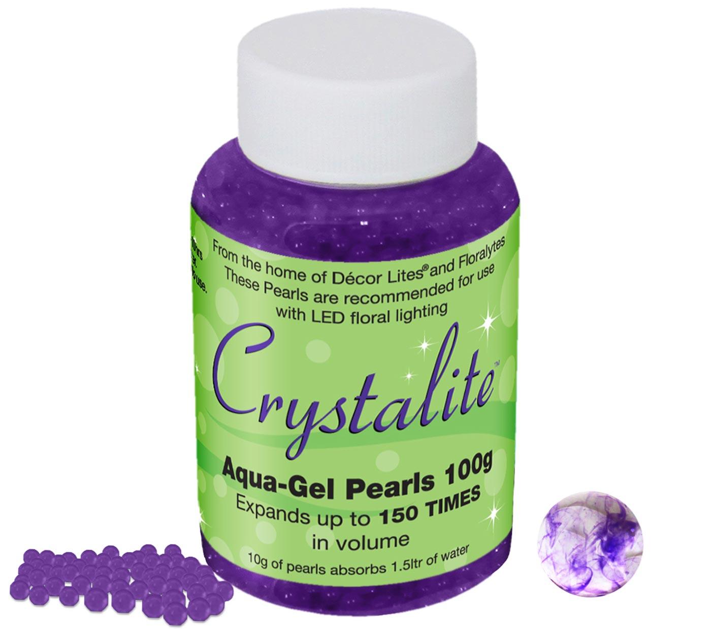 Crystalite Pearls 100g Purple
