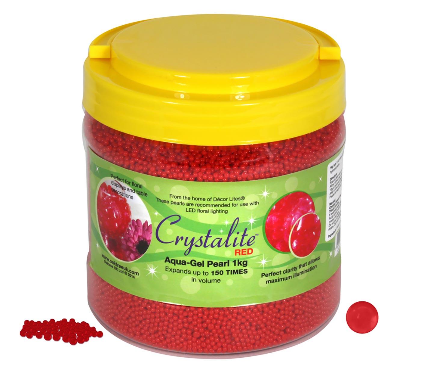 Crystalite Pearls 1Kg Red