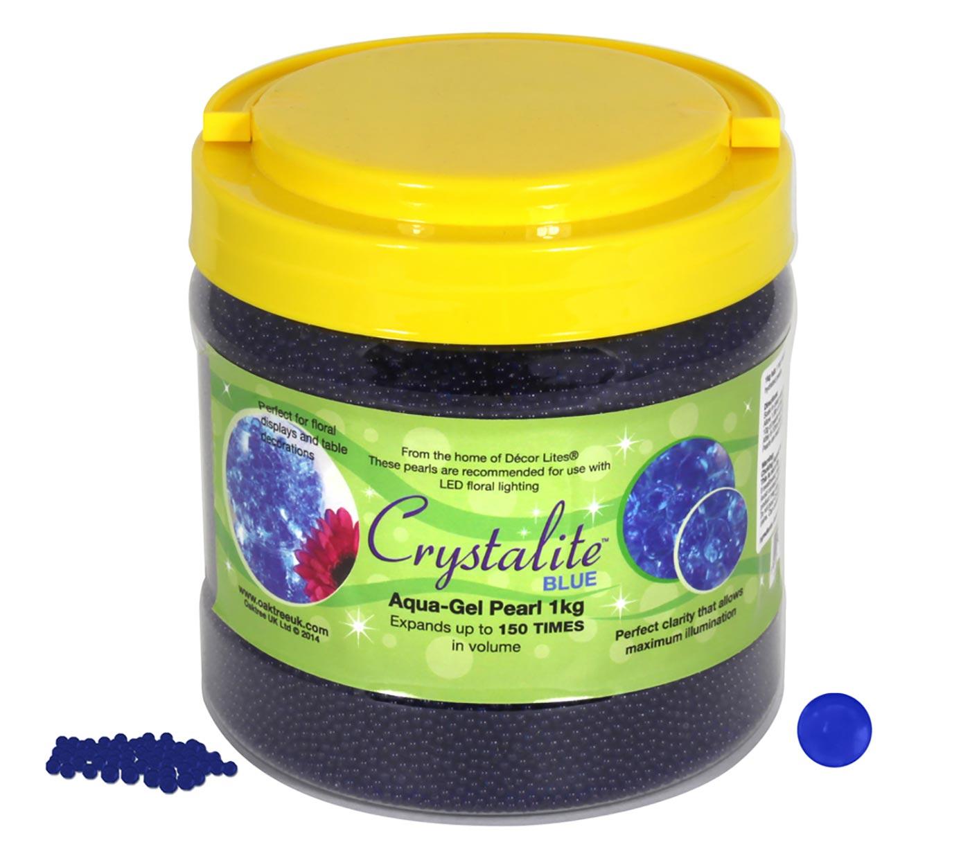 Crystalite Pearls 1Kg Blue