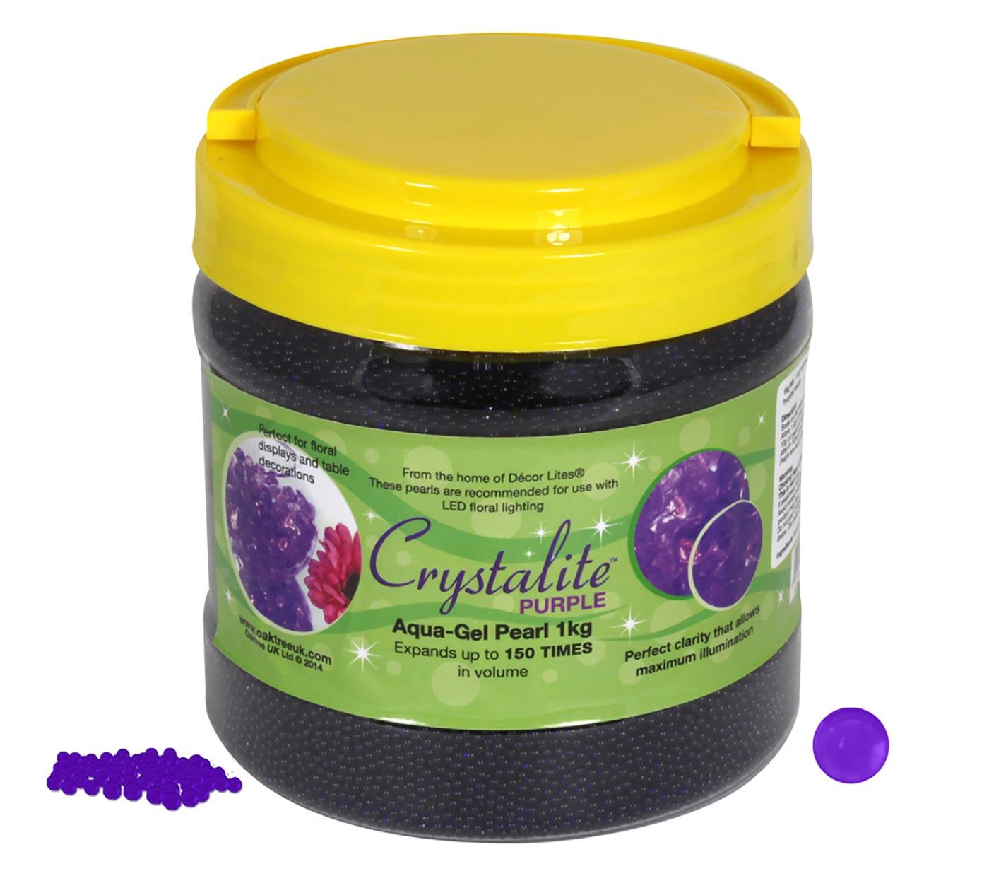 Crystalite Pearls 1Kg Purple