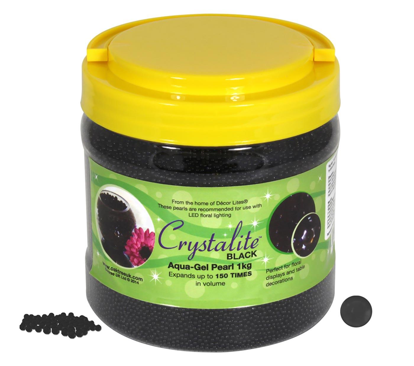 Crystalite Pearls 1Kg Black