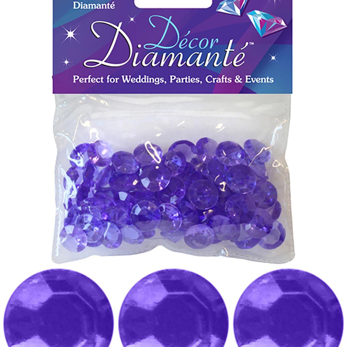 12mm Décor Diamante Diamonds 28g No.45 Lavender