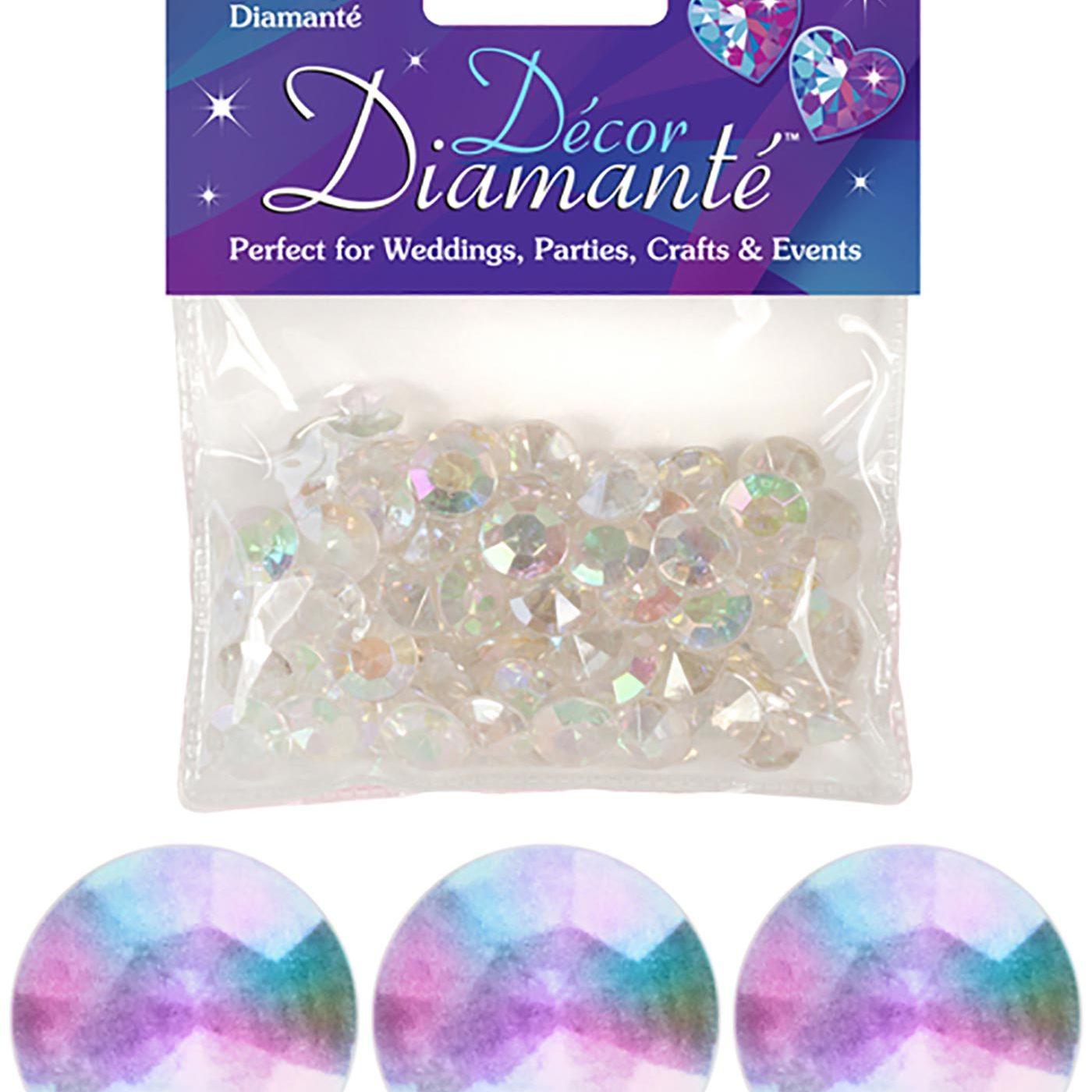 12mm Décor Diamante Diamonds 28g No.42 Iridescent