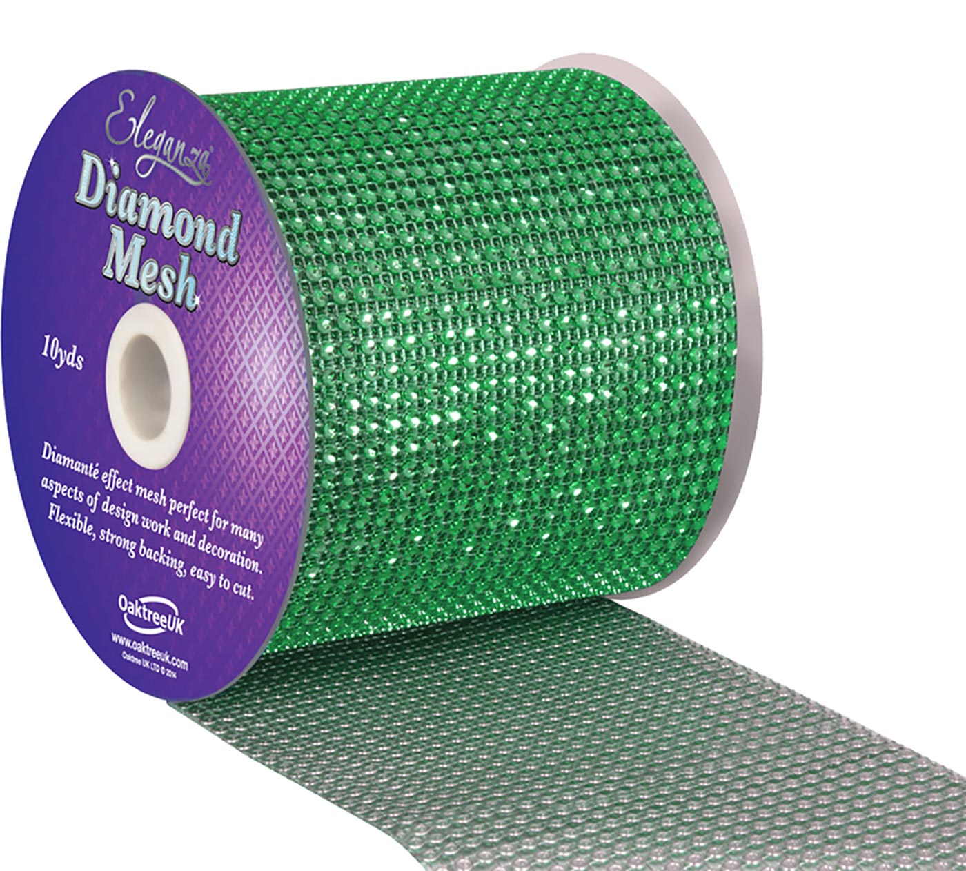 Eleganza Diamond Mesh 12cm x 9m Green