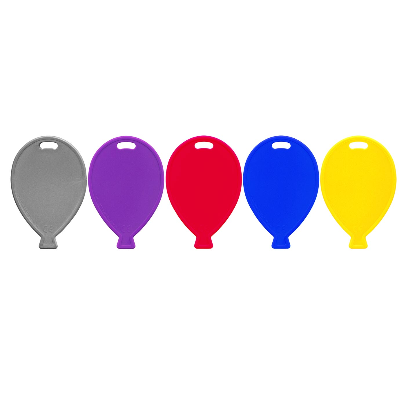 Primary Assorted Balloon Weights
