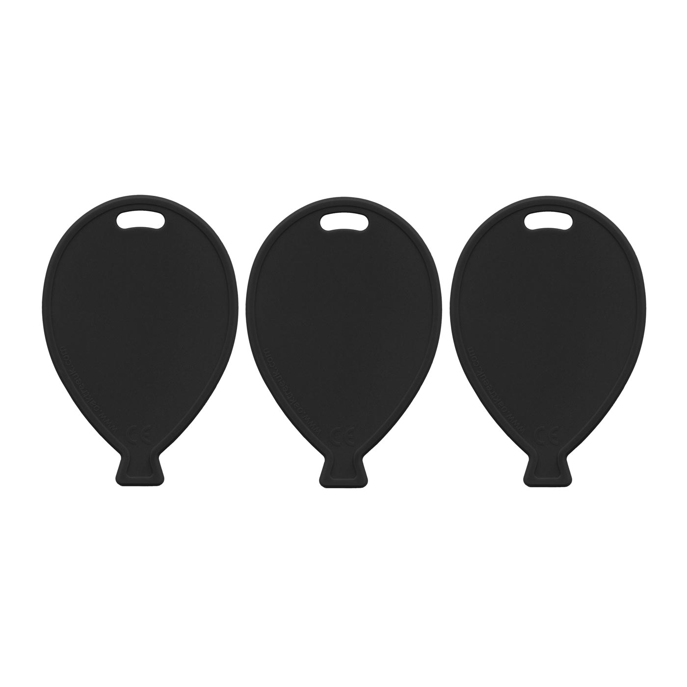 Black Balloon Weights