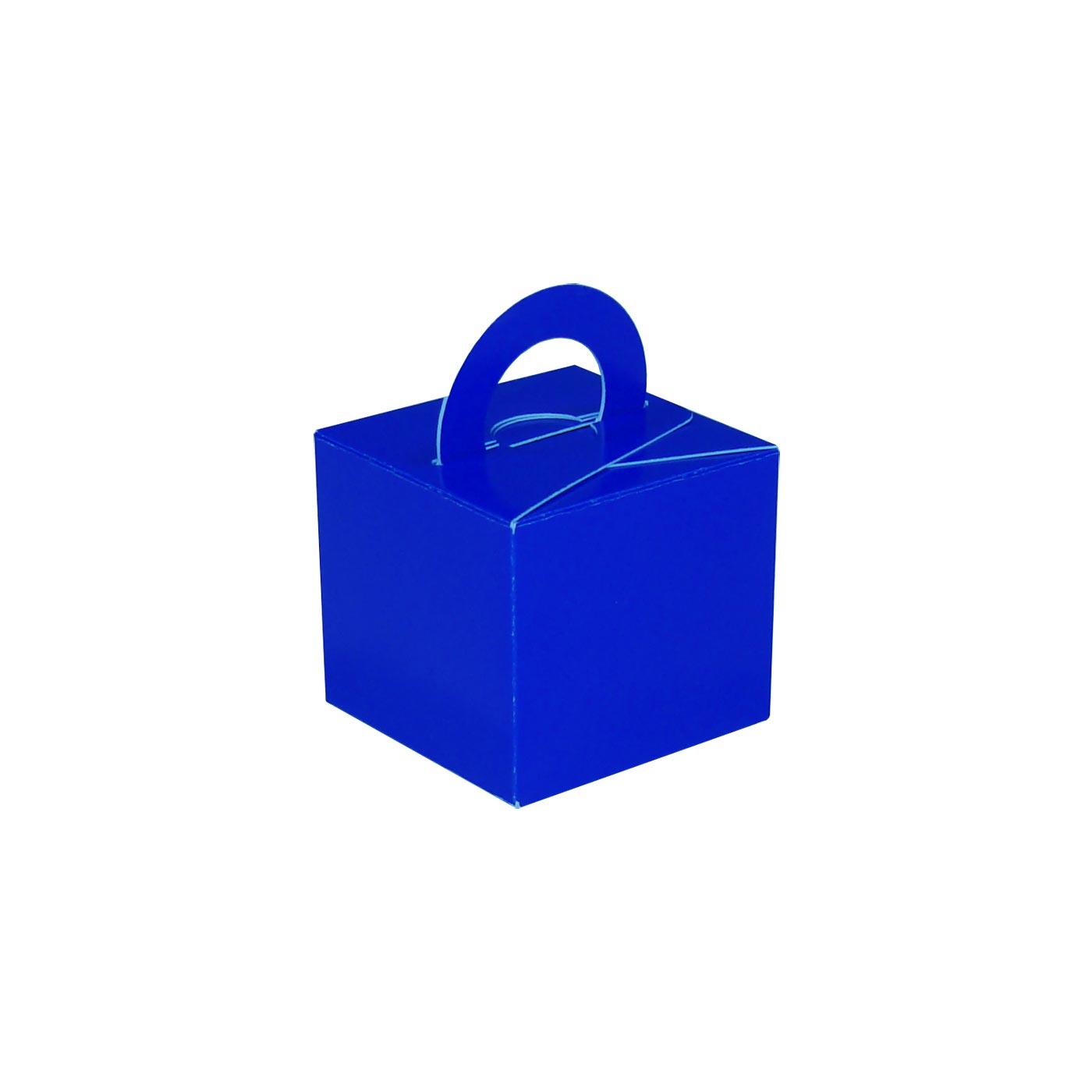Blue Balloon Weight Box