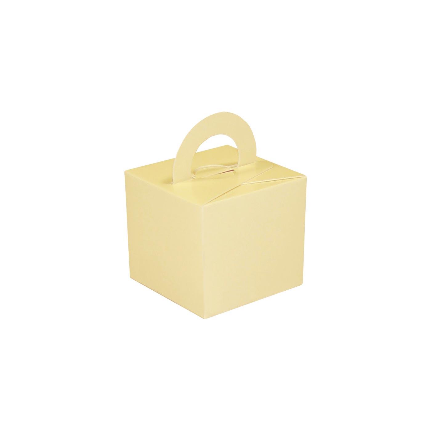 Cream Balloon Weight Box