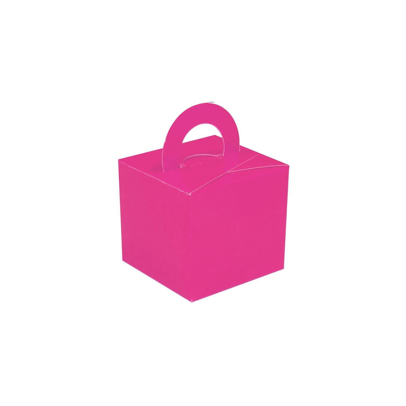 Fuchsia Balloon Weight Box