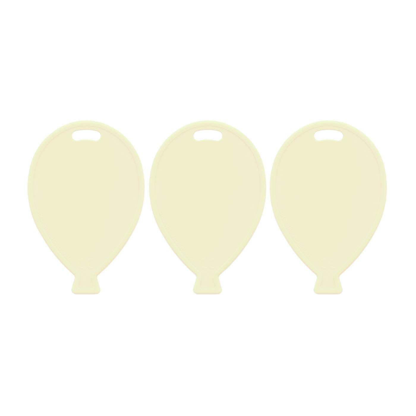 Ivory Balloon Weights