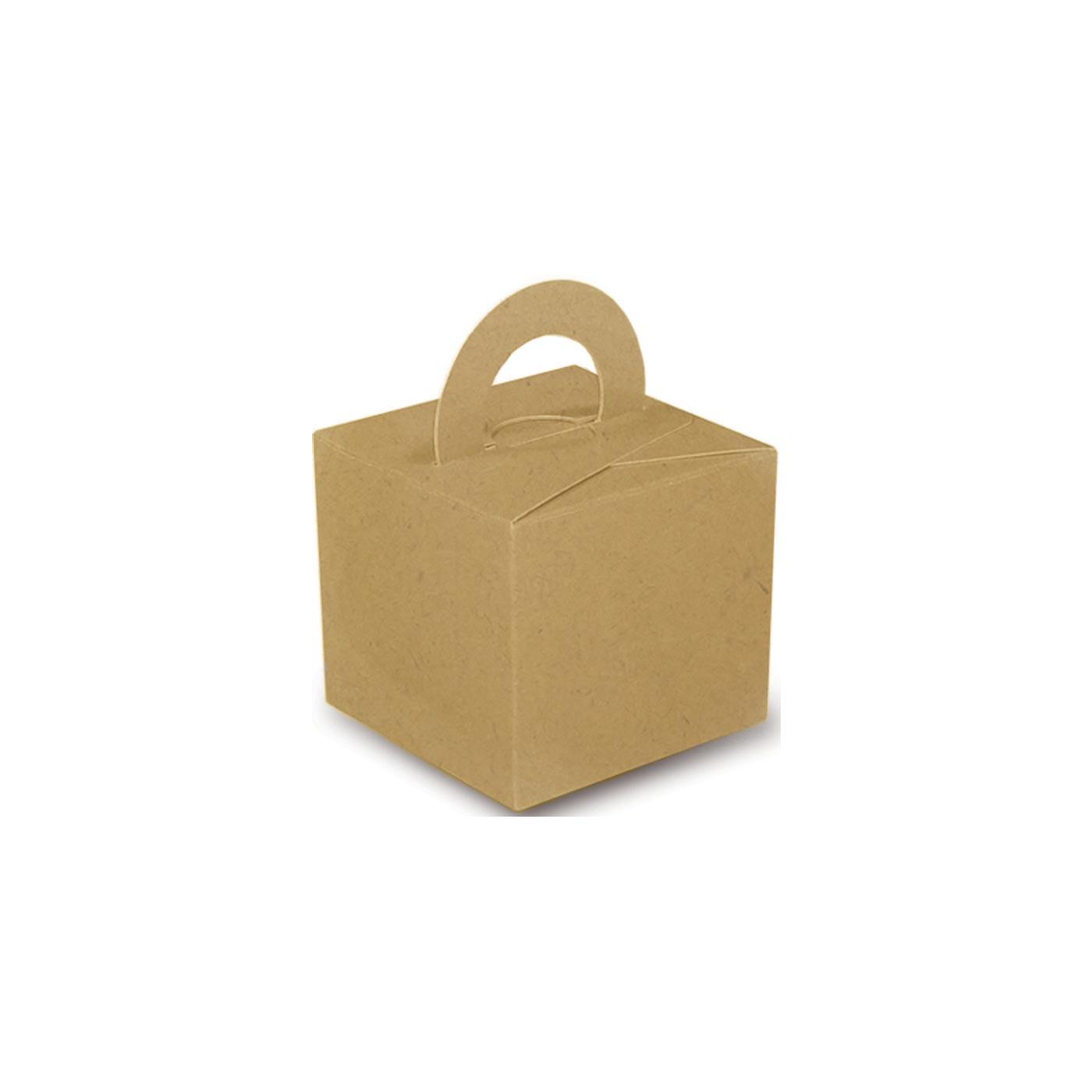 Kraft Balloon Weight Box