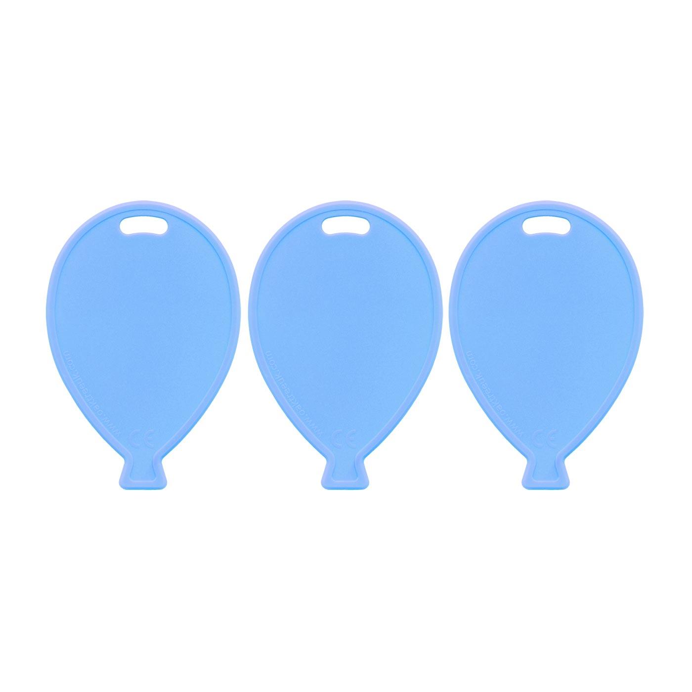 Light Blue Balloon Weights